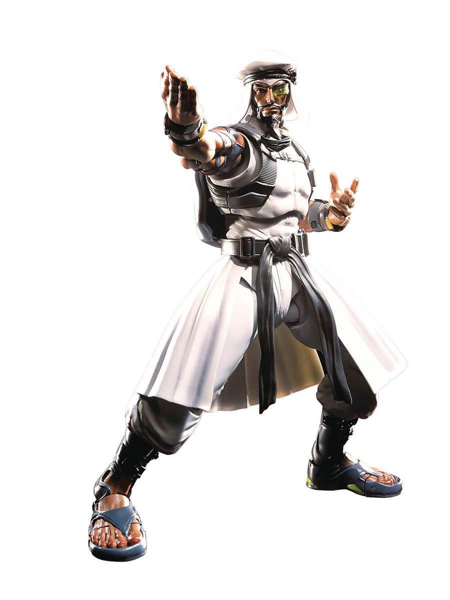 Street Fighter S. H. Figuarts #04 Rashid (Street Fighter V) Action Figure