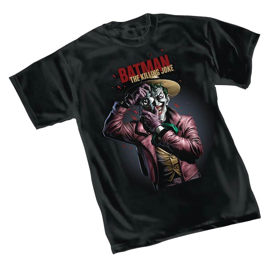 Batman Killing Joke By Brian Bolland II T-Shirt Large
