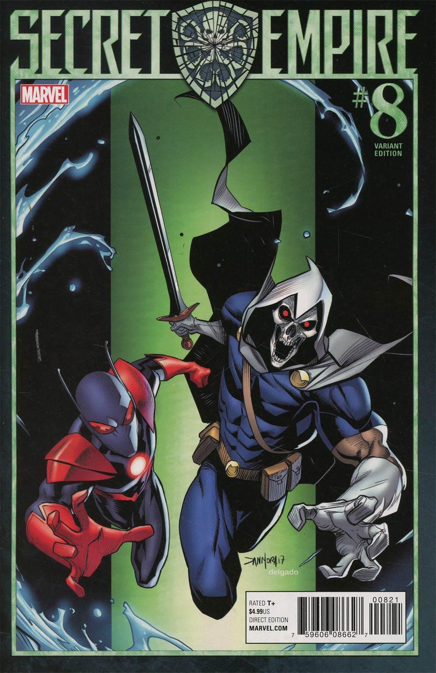 Secret Empire #8 Cover C Variant Dan Mora Villain Cover