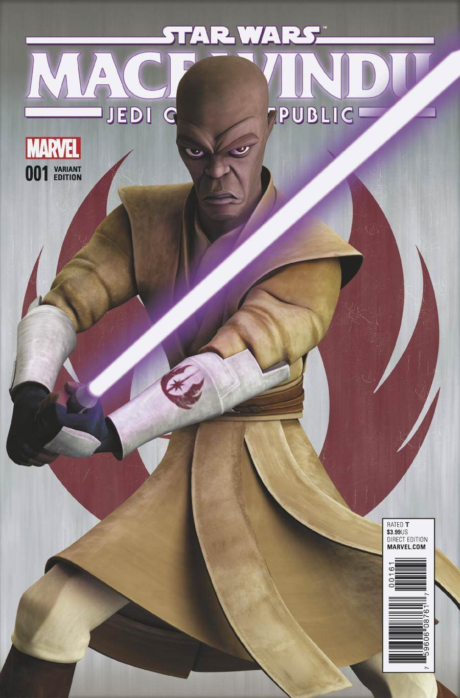 Star Wars Jedi Of The Republic Mace Windu #1 Cover B Variant Animation Cover