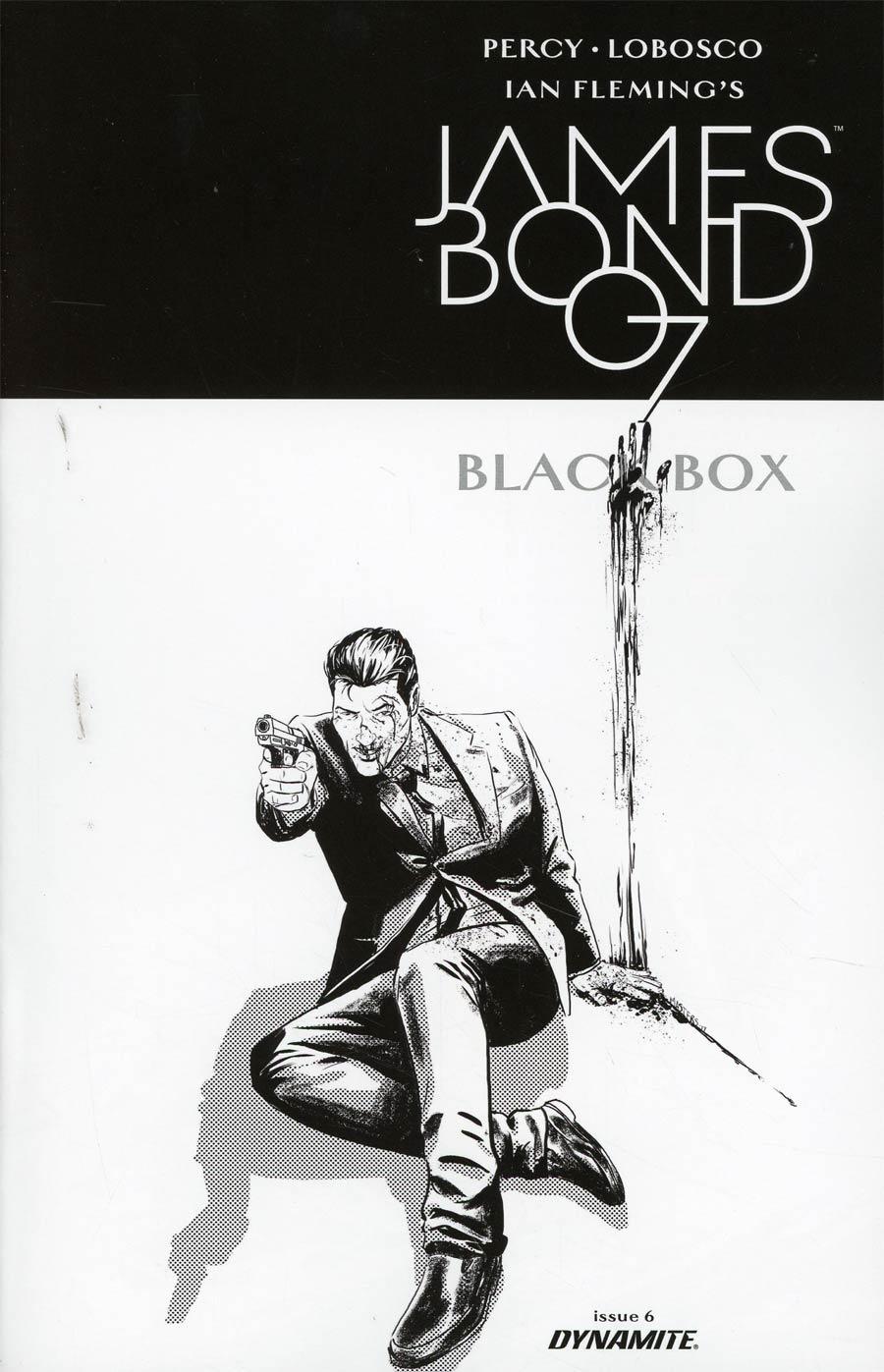 James Bond Vol 2 #6 Cover D Incentive Jason Masters Black & White Cover