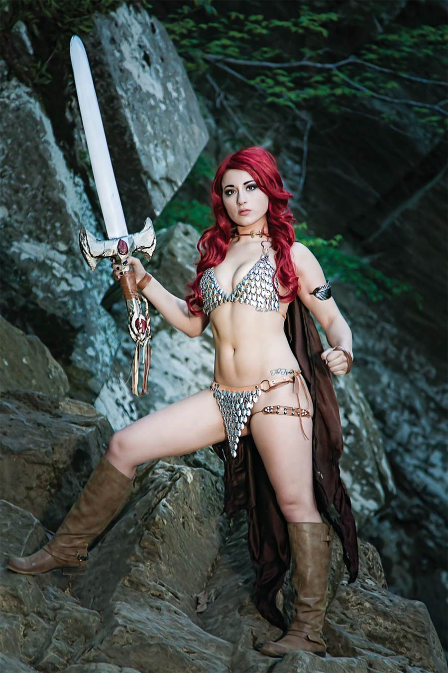 Red Sonja Vol 7 #8 Cover F Incentive Cosplay Photo Virgin Cover