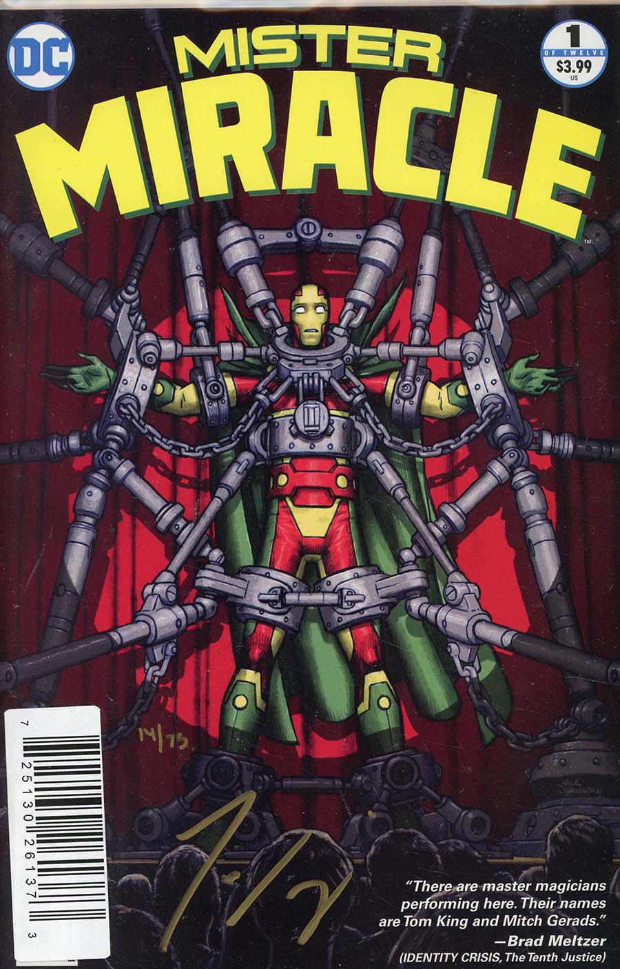 Mister Miracle Vol 4 #1 Cover C DF Signed By Tom King