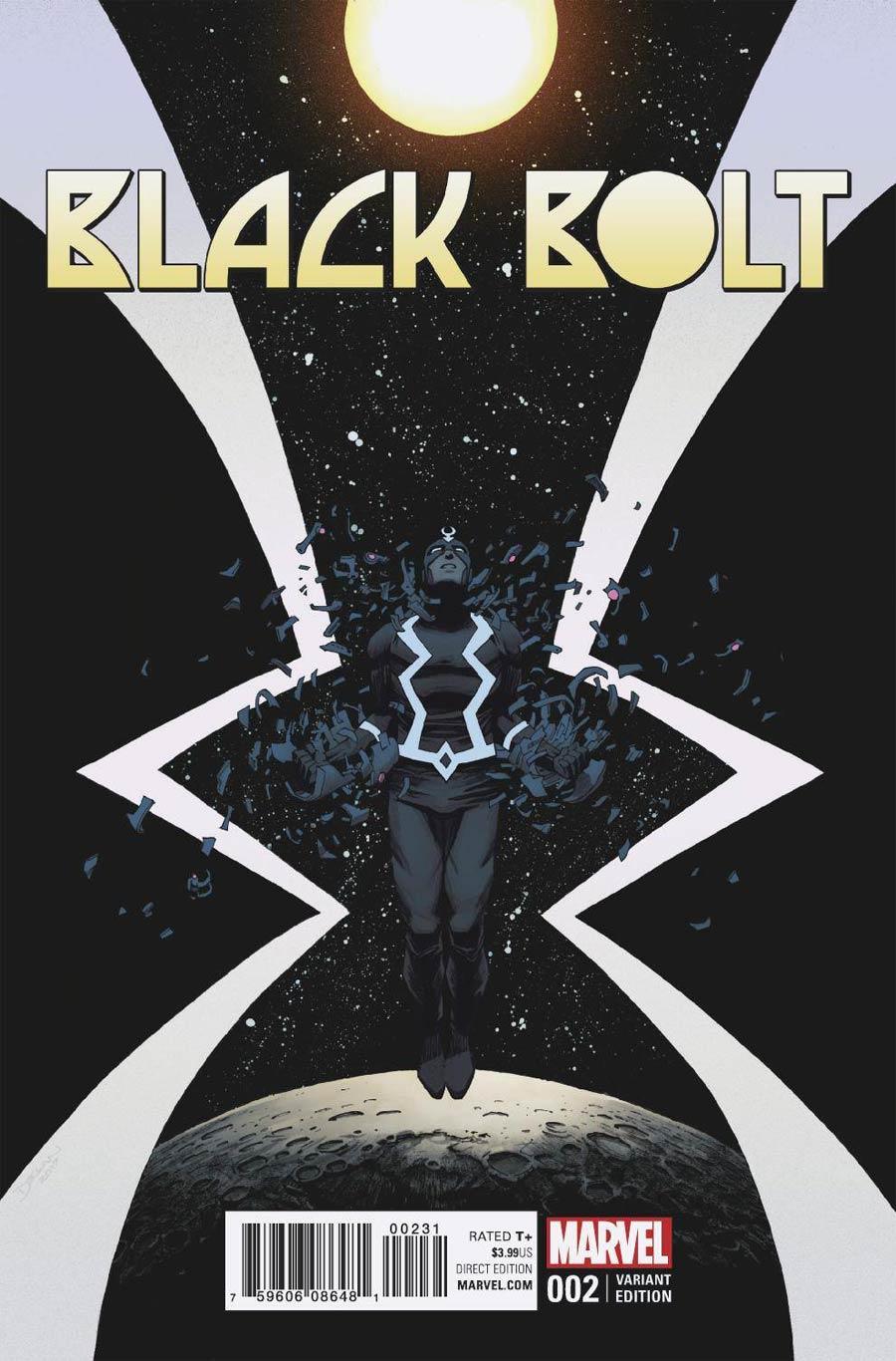 Black Bolt #2 Cover C Incentive Declan Shalvey & Jordie Bellaire Variant Cover