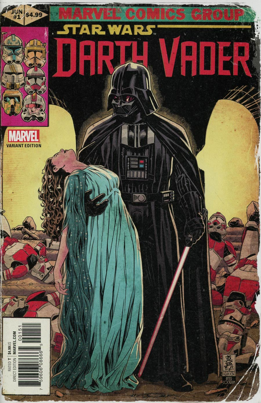 Darth Vader Vol 2 #1 Cover H Incentive Mark Brooks Homage Variant Cover