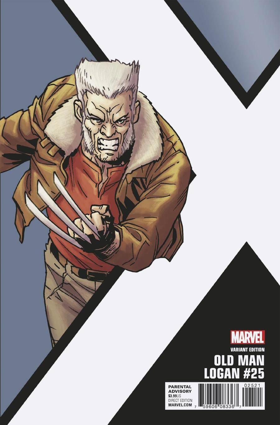Old Man Logan Vol 2 #25 Cover B Incentive Leonard Kirk Corner Box Variant Cover