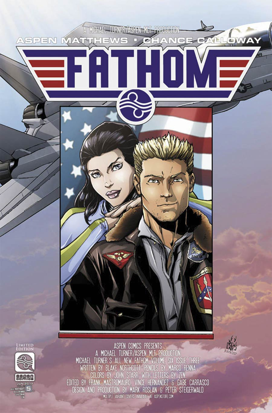 All New Fathom Vol 2 #5 Cover C Incentive Marco Renna Variant Cover