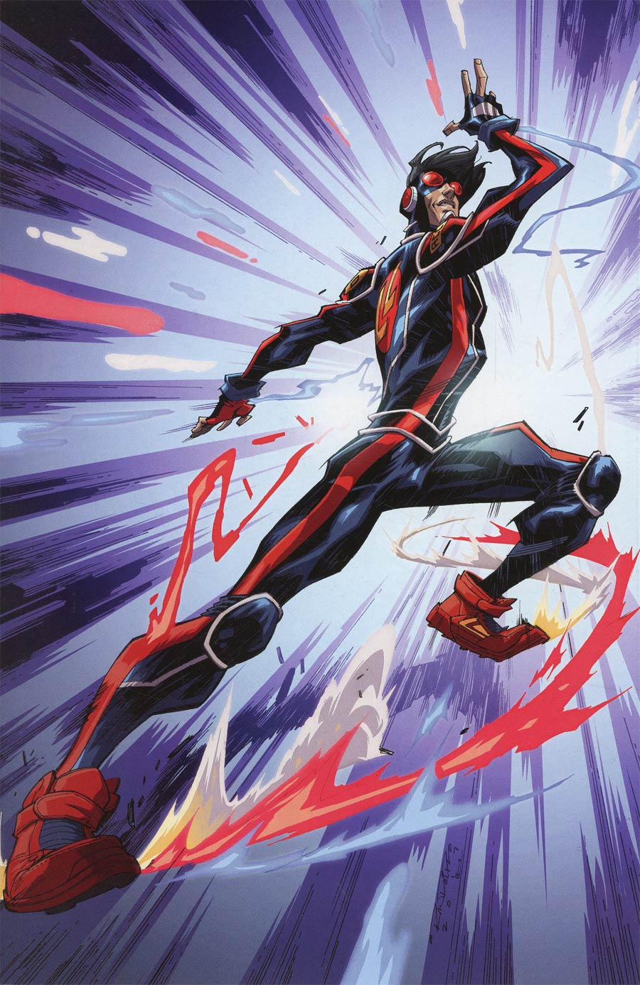 Catalyst Prime Accell #1 Cover B Incentive Khary Randolph Variant Cover