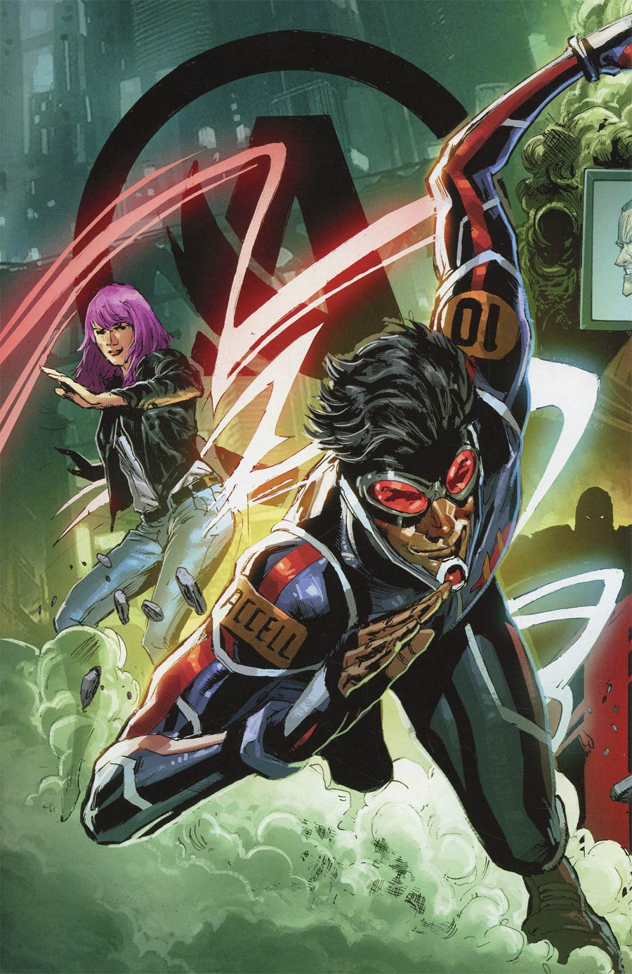 Catalyst Prime Accell #1 Cover D Incentive Connecting Variant Cover