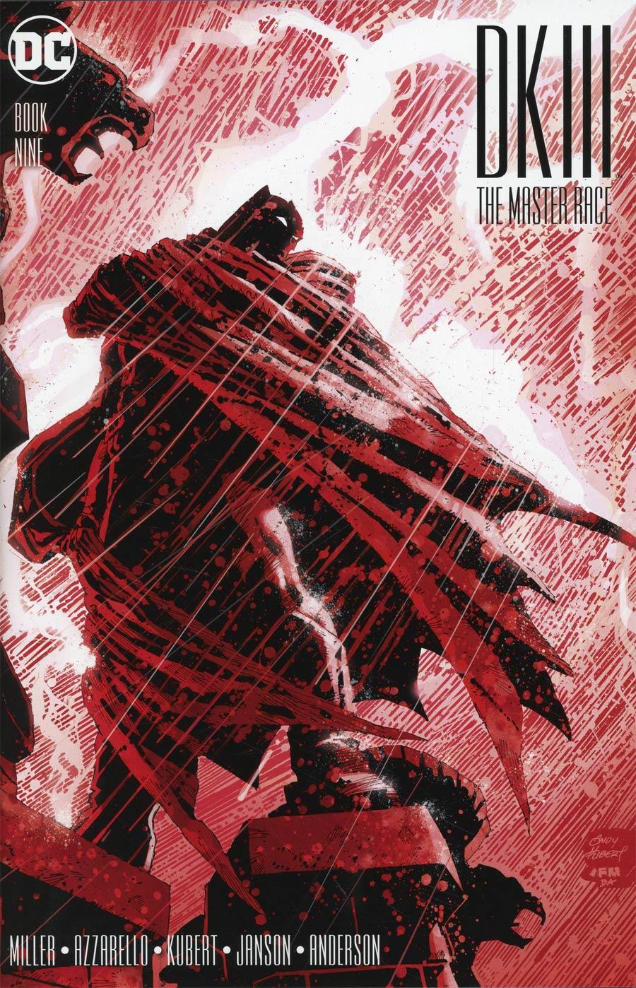Dark Knight III The Master Race #9 Cover A Regular Andy Kubert Batman Cover