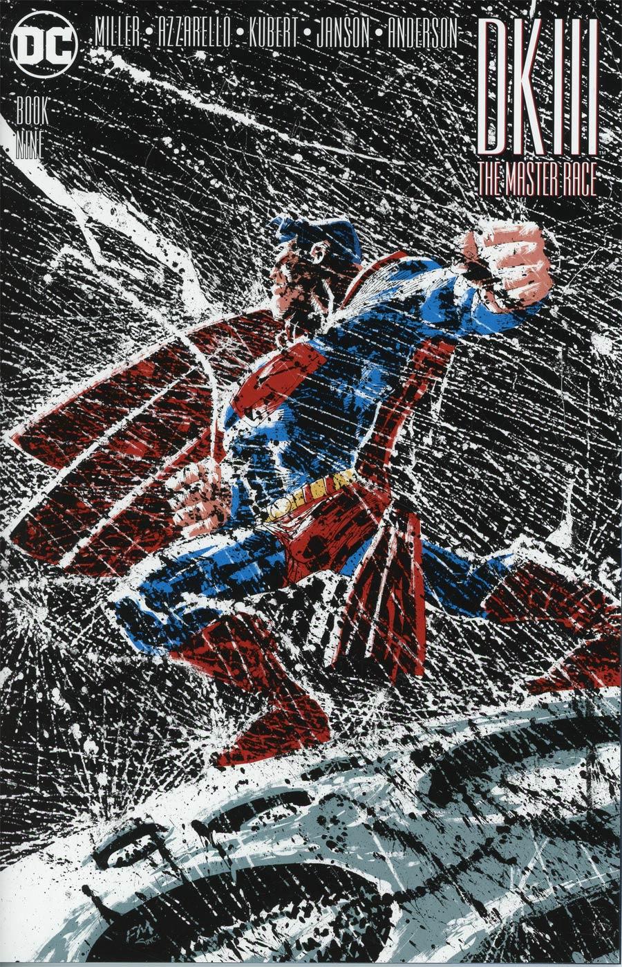 Dark Knight III The Master Race #9 Cover B Regular Andy Kubert Superman Cover