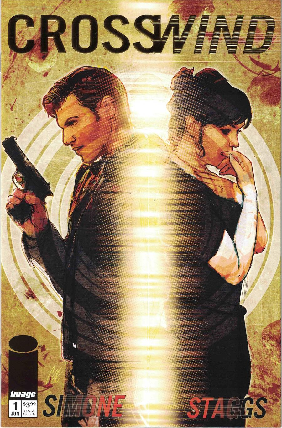 Crosswind #1 Cover C Incentive Retailer Appreciation Gold Foil Variant Cover