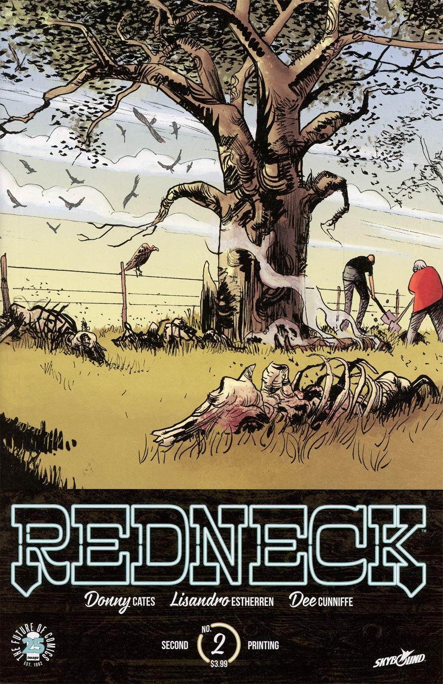 Redneck #2 Cover B 2nd Ptg Lisandro Estherren Variant Cover
