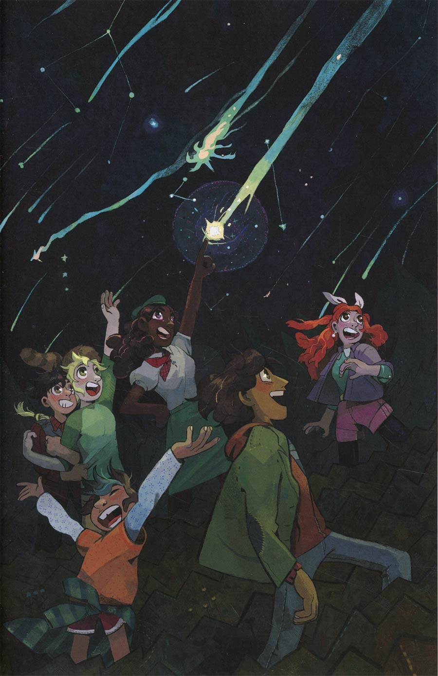 Lumberjanes 2017 Special Faire And Square #1 Cover B Incentive Hailey Thurrott Virgin Variant Cover