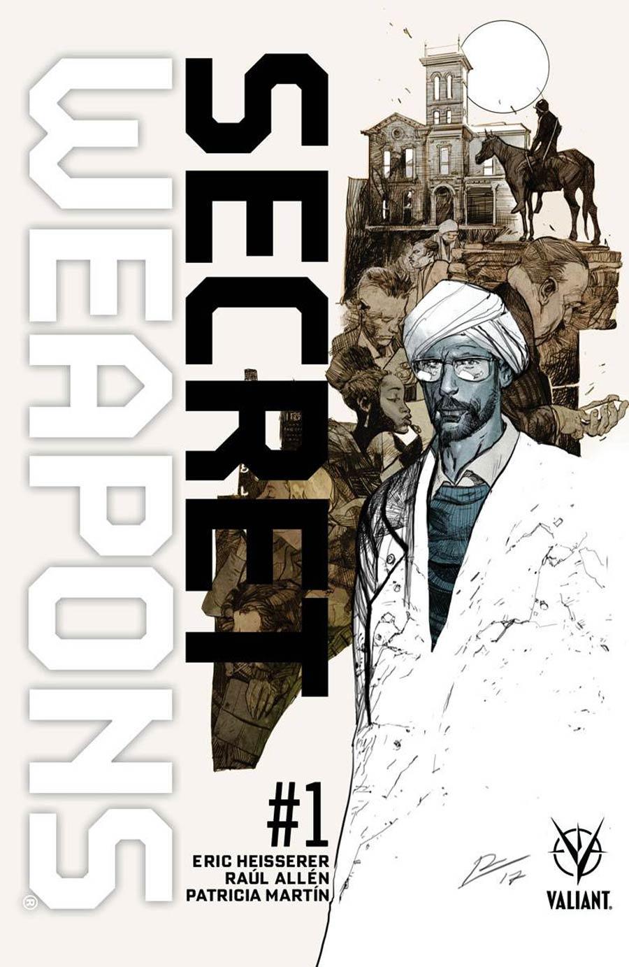 Secret Weapons Vol 2 #1 Cover E Incentive Roberto De La Torre Variant Cover