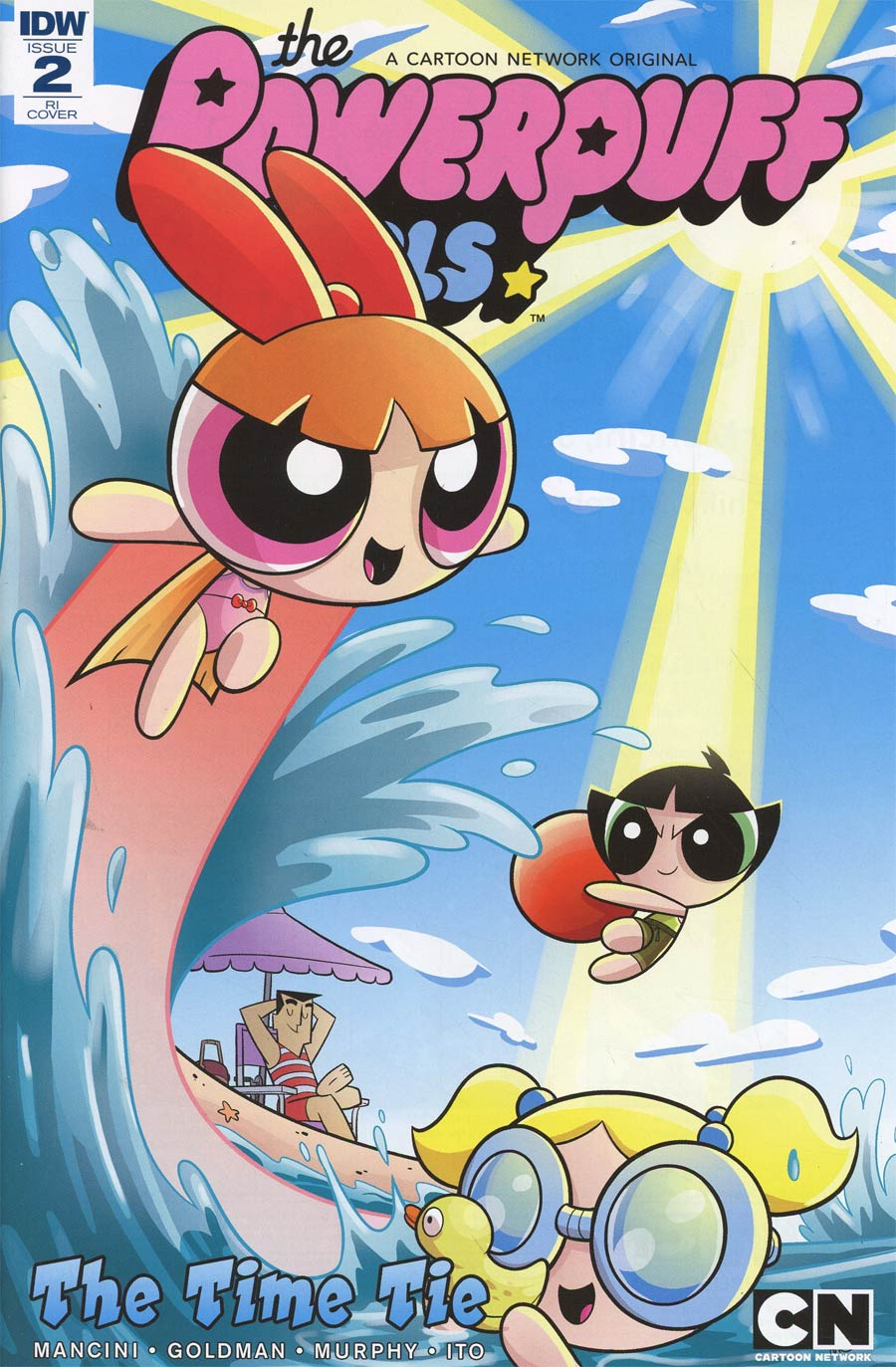 Powerpuff Girls Time Tie #2 Cover C Incentive Ian McGinty Variant Cover