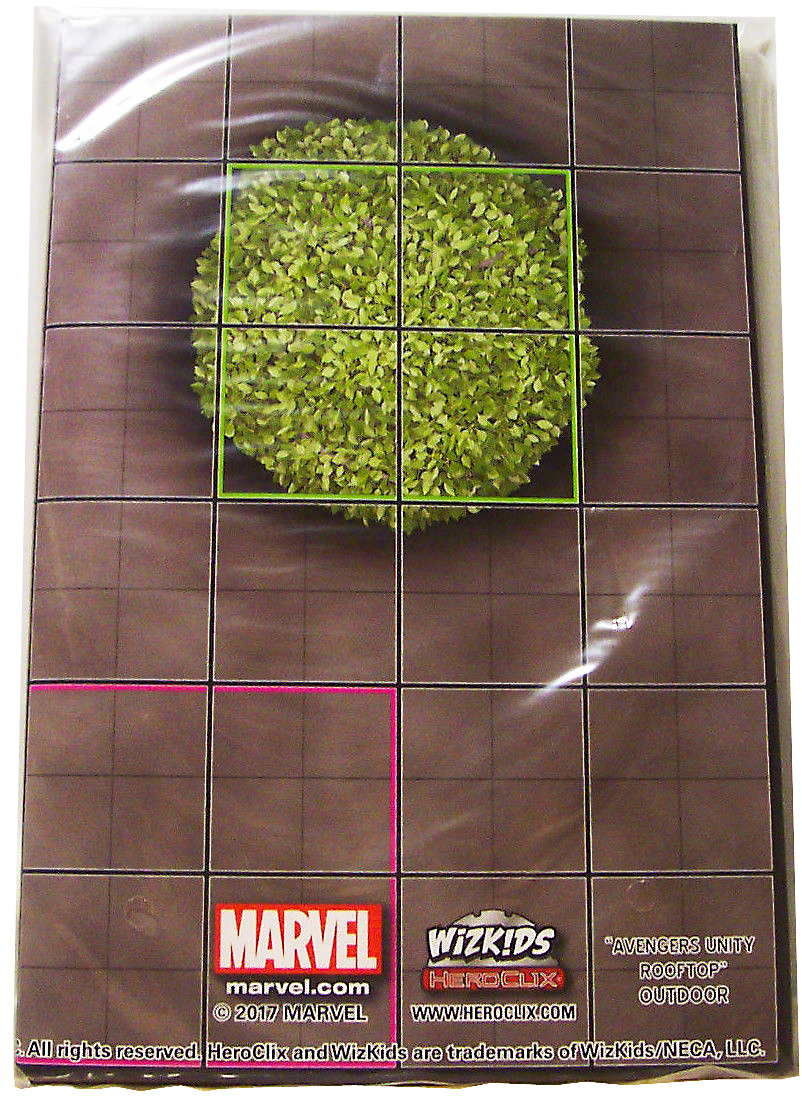 Marvel HeroClix 15th Anniversary Avengers Unity Rooftop Outdoor / Arthurs Castle Outdoor Map
