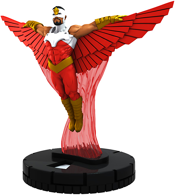 Marvel HeroClix Young Avengers And Falcon #M16-007 Falcon Mini Figure With Card