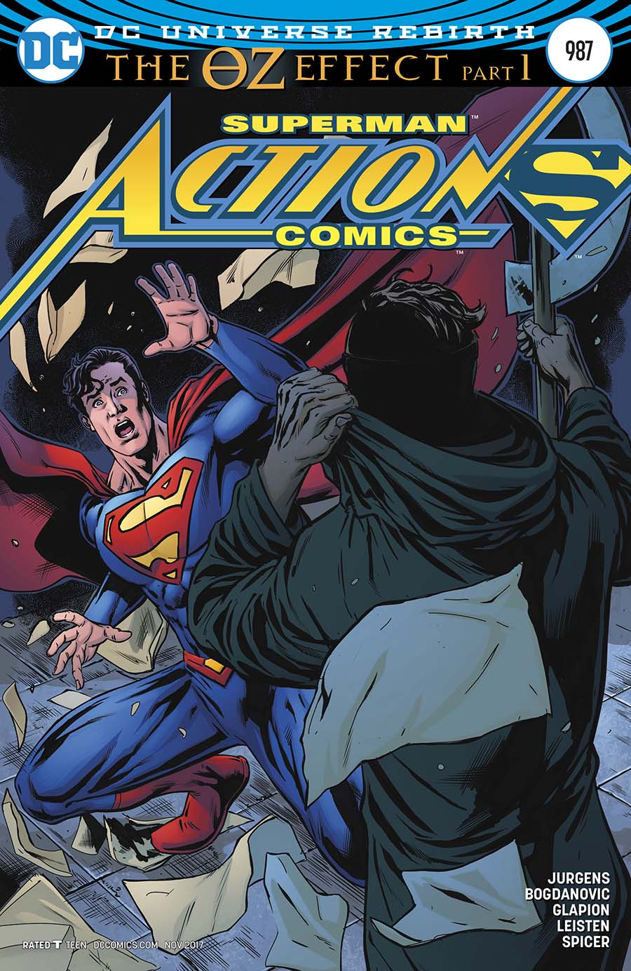 Action Comics Vol 2 #987 Cover C Variant Neil Edwards & Jay Leisten Cover