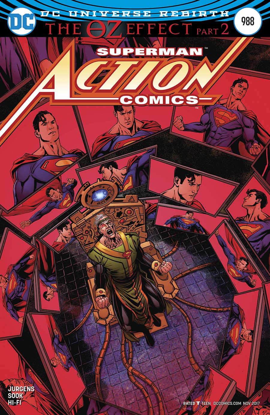 Action Comics Vol 2 #988 Cover C Variant Mikel Janin Cover