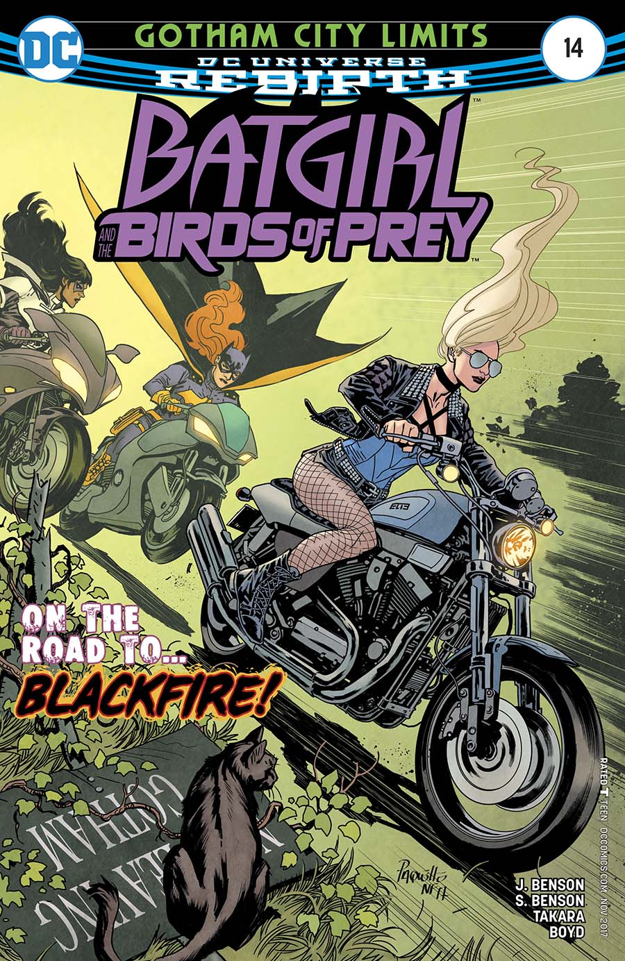 Batgirl And The Birds Of Prey #14 Cover A Regular Yanick Paquette Cover