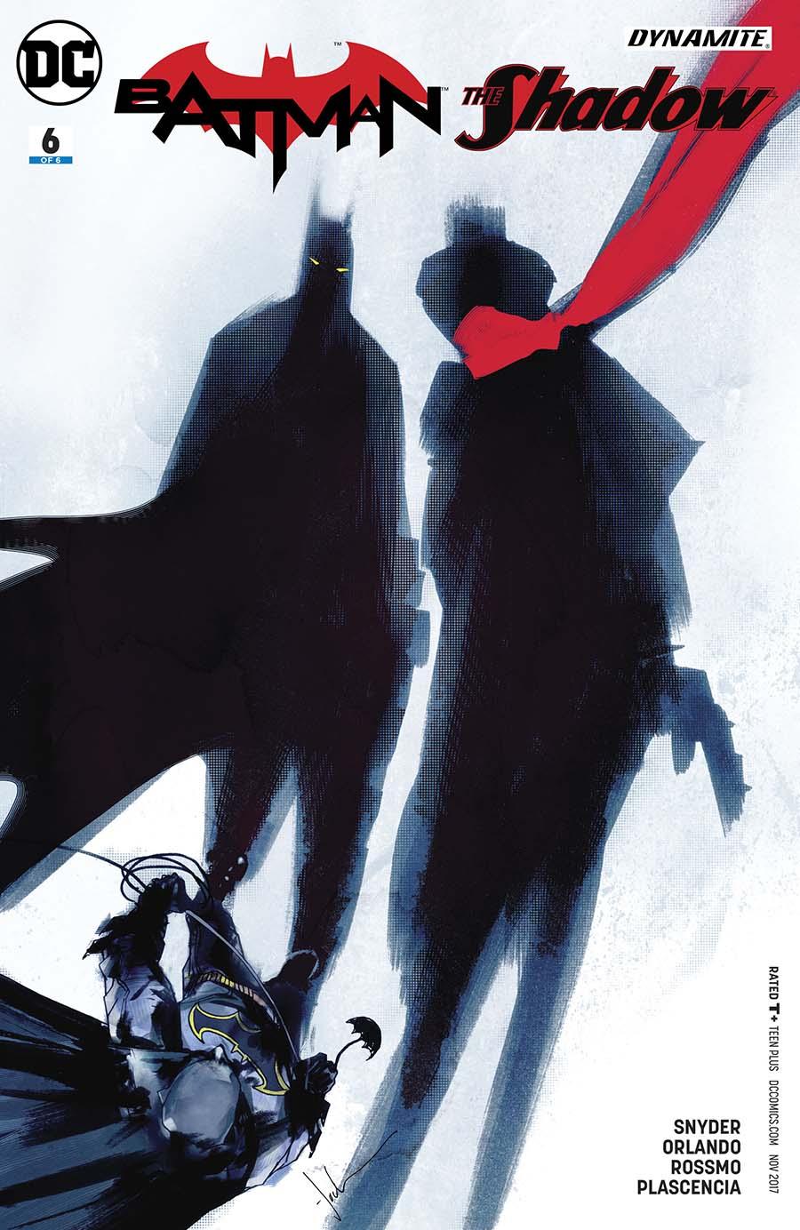 Batman The Shadow #6 Cover B Variant Jock Cover