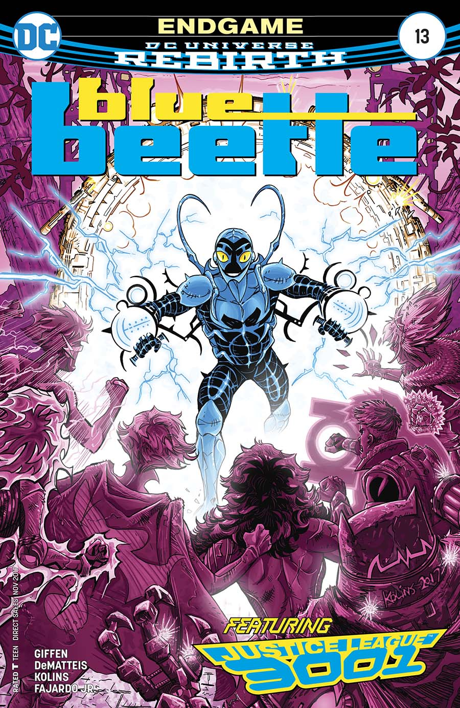 Blue Beetle (DC) Vol 4 #13 Cover A Regular Scott Kolins Cover
