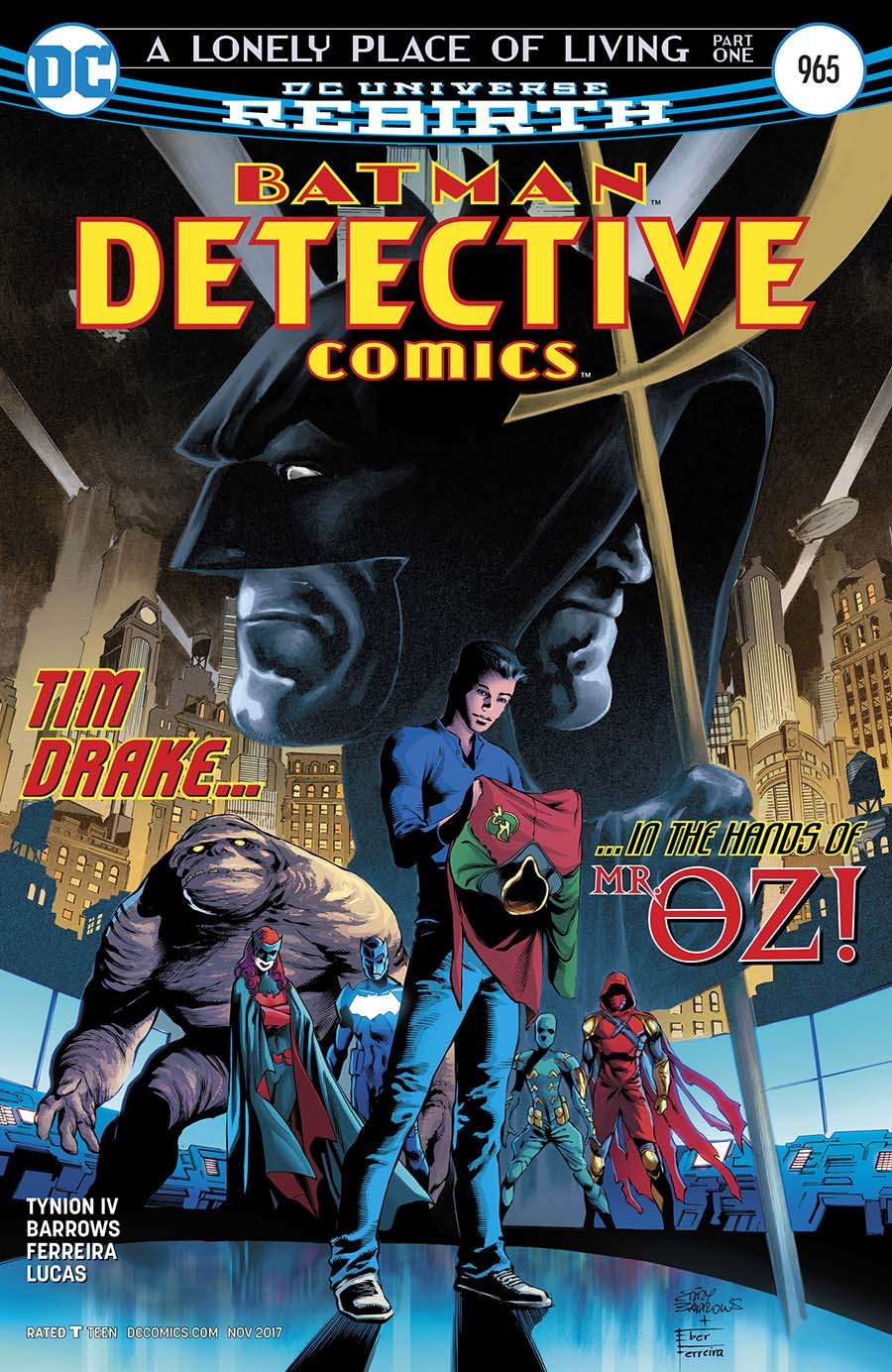 Detective Comics Vol 2 #965 Cover A Regular Eddy Barrows Cover