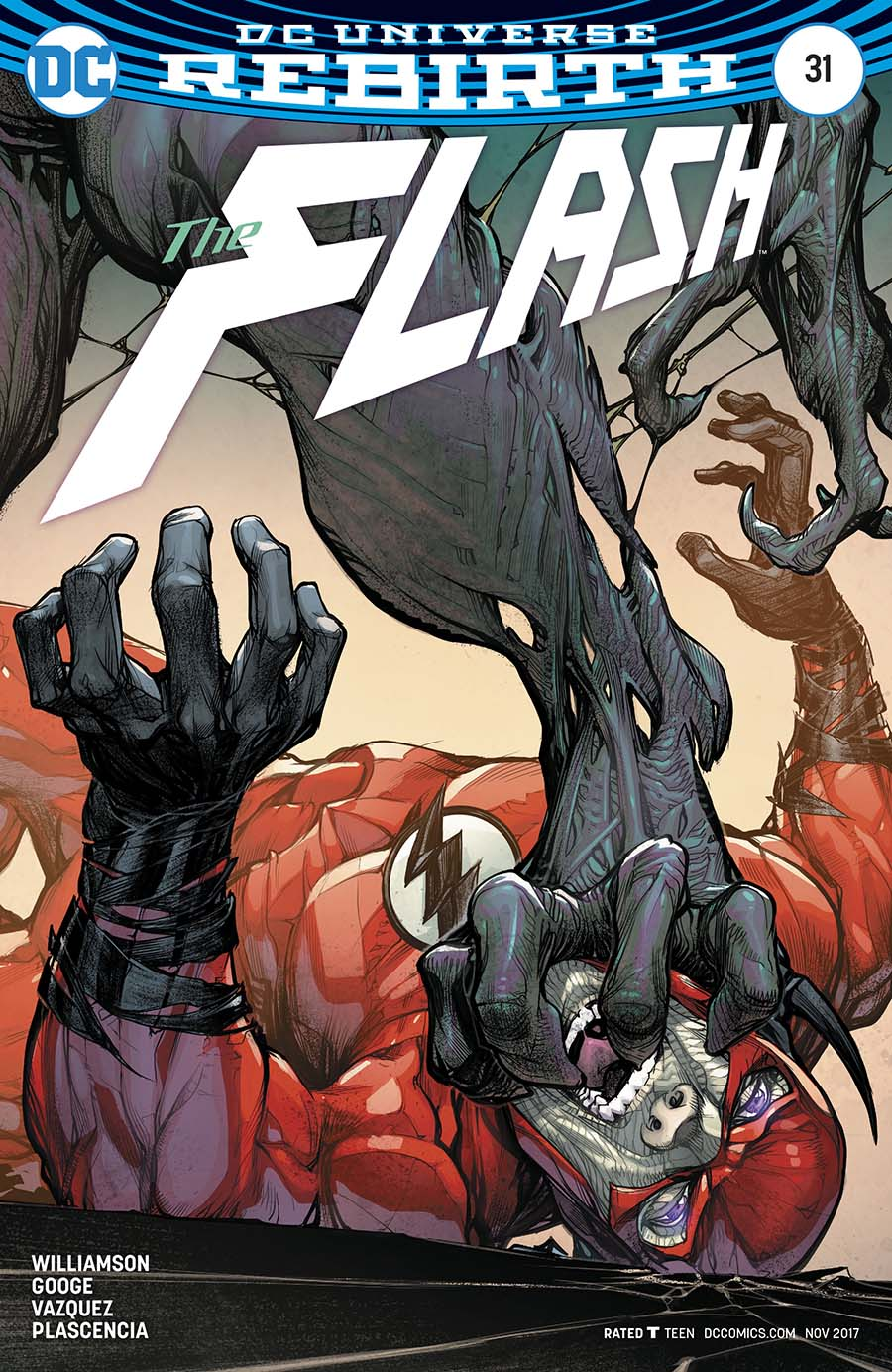 Flash Vol 5 #31 Cover B Variant Howard Porter Cover