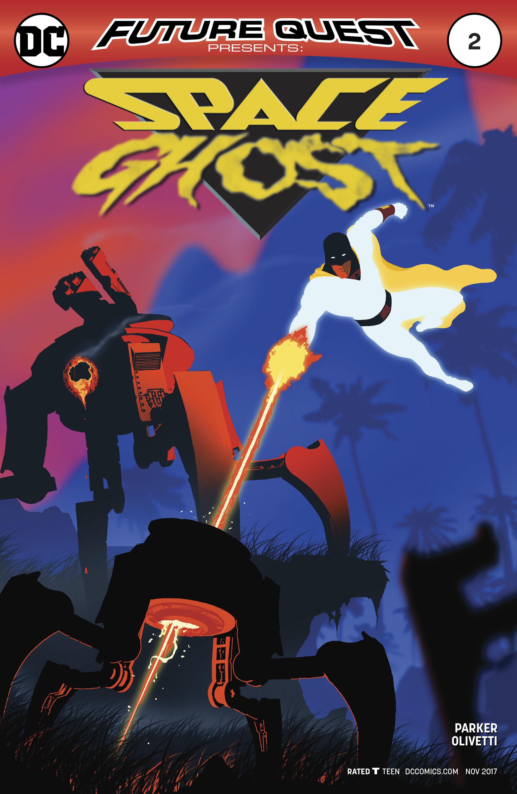 Future Quest Presents #2 Cover B Variant Mac Rey Cover