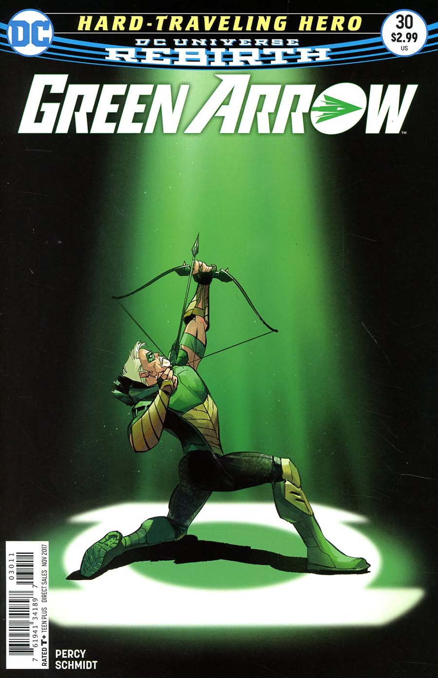 Green Arrow Vol 7 #30 Cover A Regular Otto Schmidt Cover