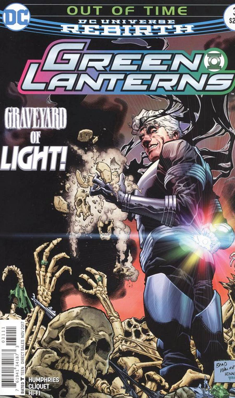 Green Lanterns #31 Cover A Regular Brad Walker & Drew Hennessy Cover