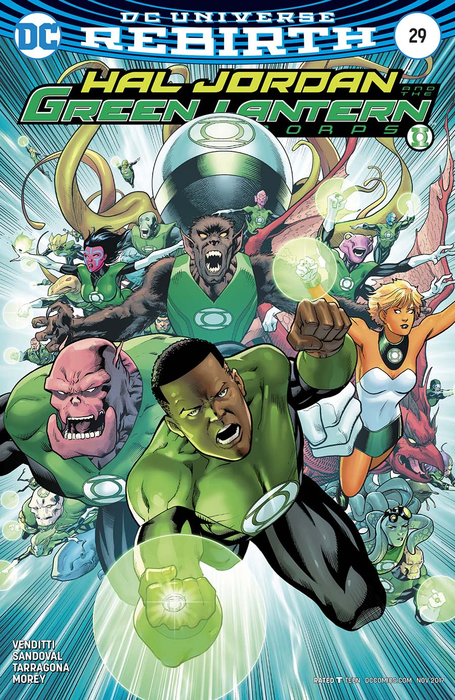 Hal Jordan And The Green Lantern Corps #29 Cover B Variant Barry Kitson Cover