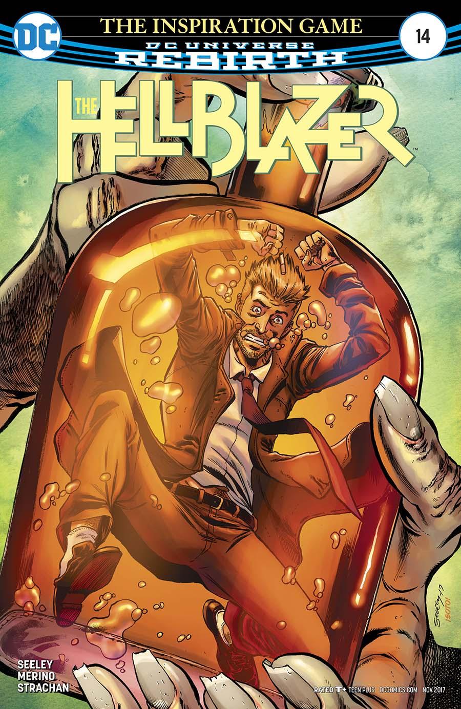 Hellblazer Vol 2 #14 Cover A Regular Tim Seeley Cover