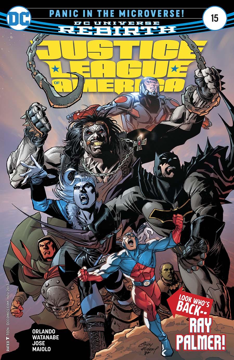 Justice League Of America Vol 5 #15 Cover A Regular Ivan Reis & Joe Prado Cover