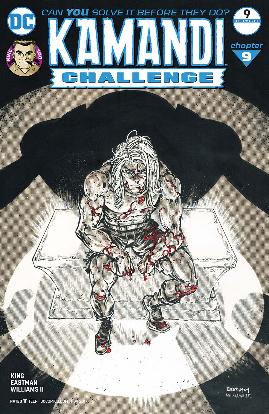Kamandi Challenge #9 Cover B Variant Kevin Eastman & Freddie Williams III Cover