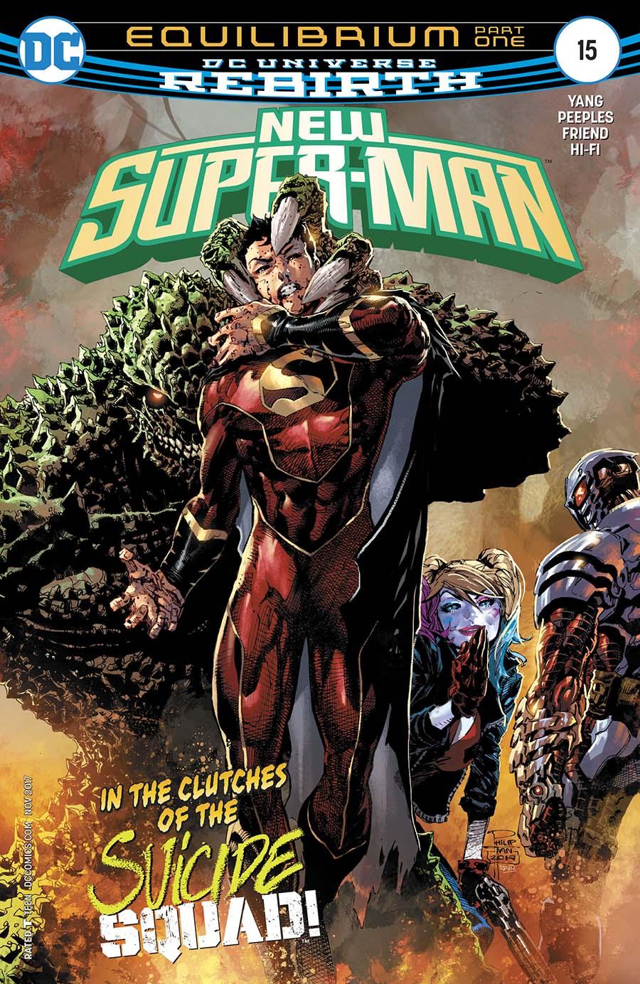 New Super-Man #15 Cover A Regular Philip Tan Cover
