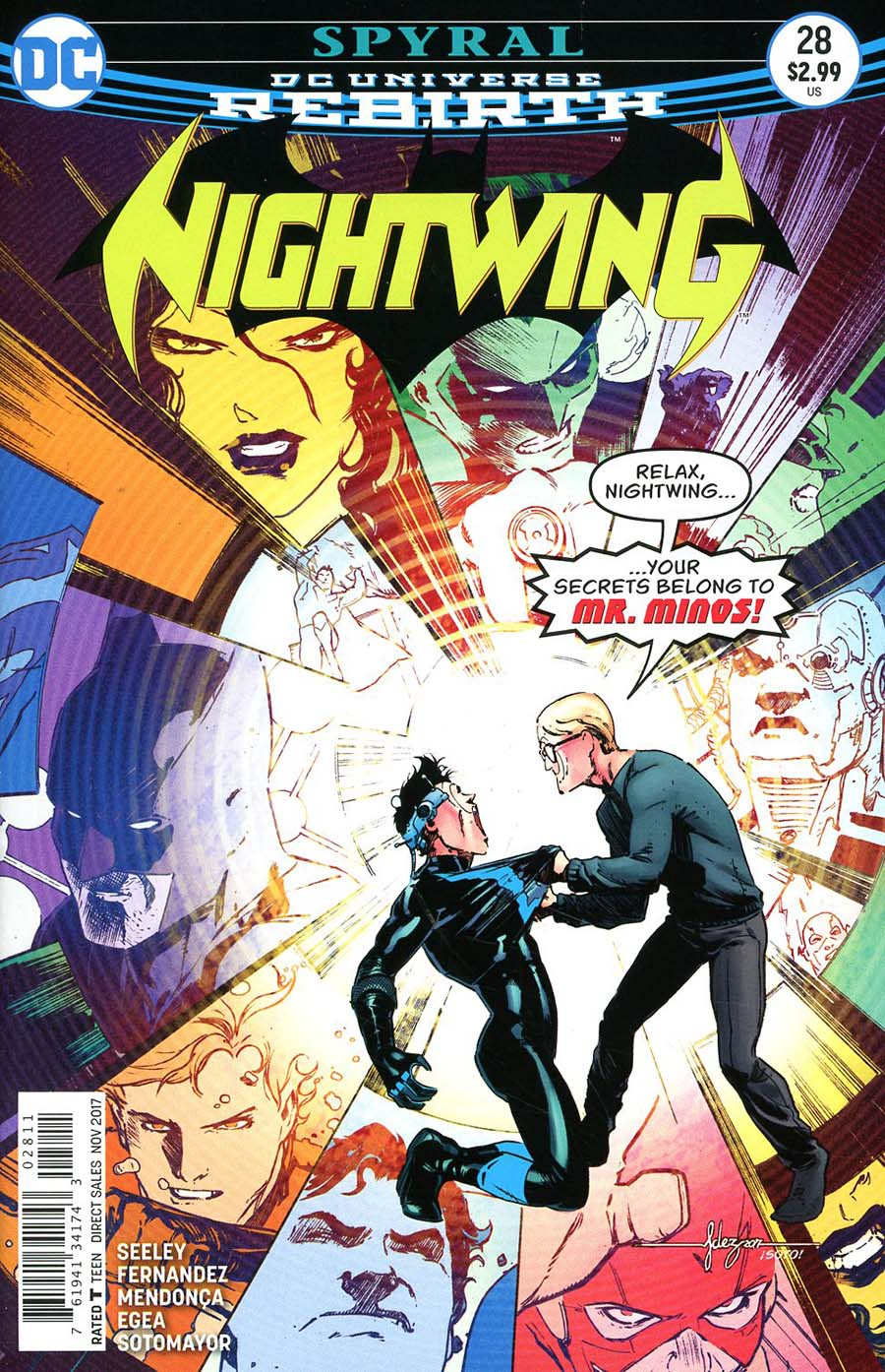 Nightwing Vol 4 #28 Cover A Regular Javier Fernandez Cover