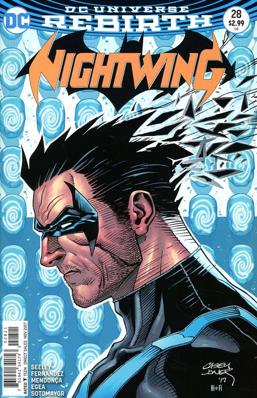 Nightwing Vol 4 #28 Cover B Variant Casey Jones Cover