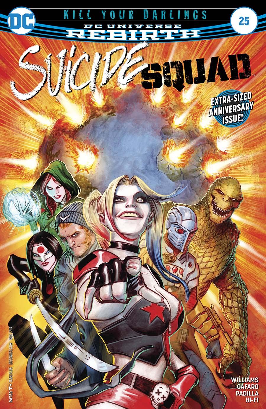 Suicide Squad Vol 4 #25 Cover A Regular Juan Ferreyra Cover