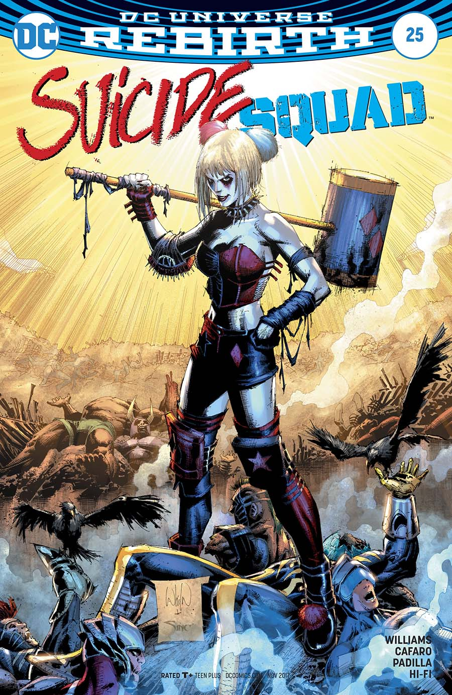 Suicide Squad Vol 4 #25 Cover B Variant Whilce Portacio Cover