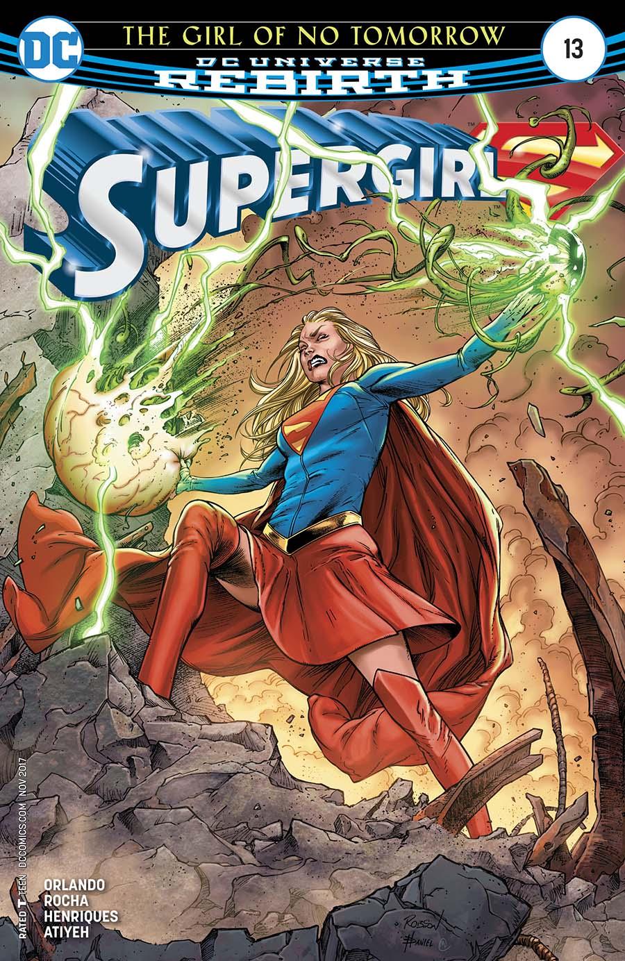 Supergirl Vol 7 #13 Cover A Regular Robson Rocha & Daniel Henriques Cover