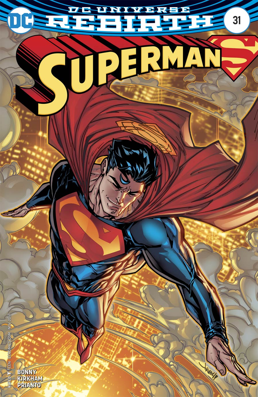 Superman Vol 5 #31 Cover B Variant Ian Churchill Cover