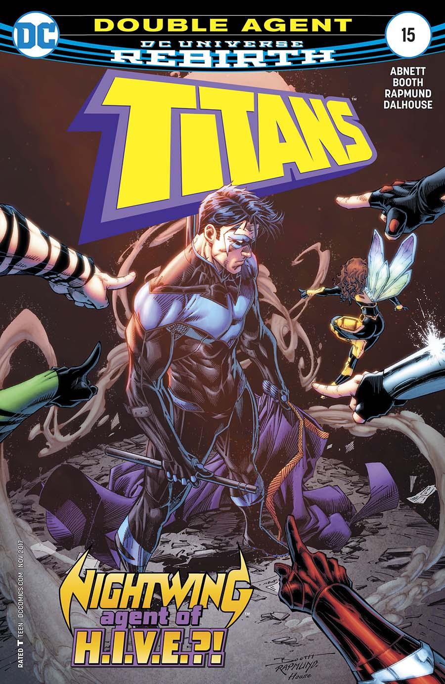 Titans Vol 3 #15 Cover A Regular Brett Booth & Norm Rapmund Cover