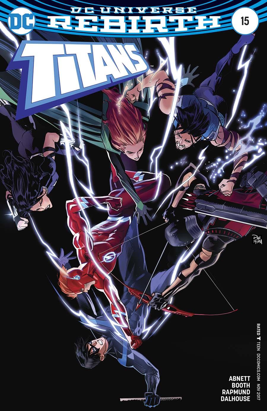 Titans Vol 3 #15 Cover B Variant Dan Mora Cover