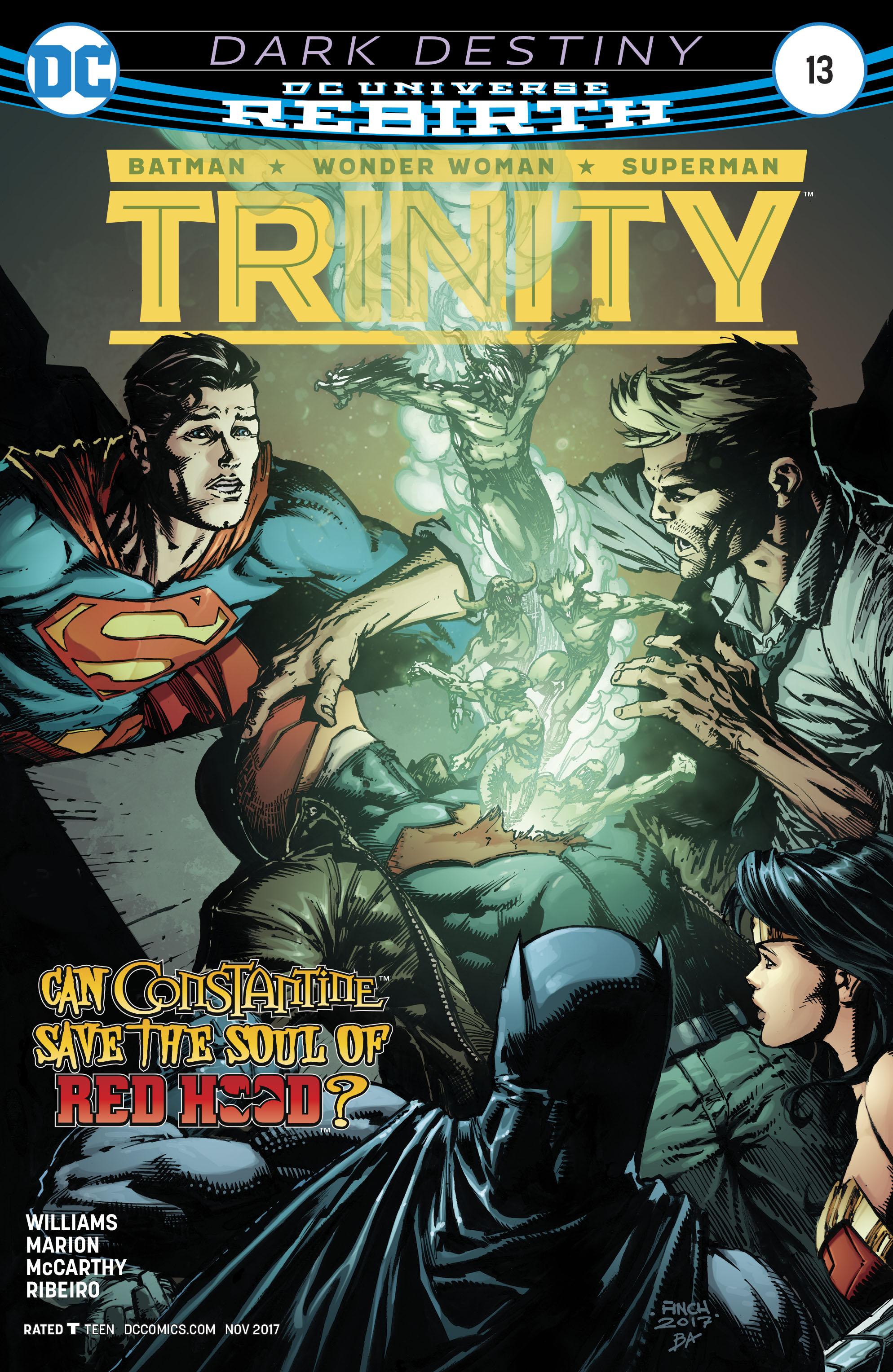 Trinity Vol 2 #13 Cover A Regular David Finch Cover