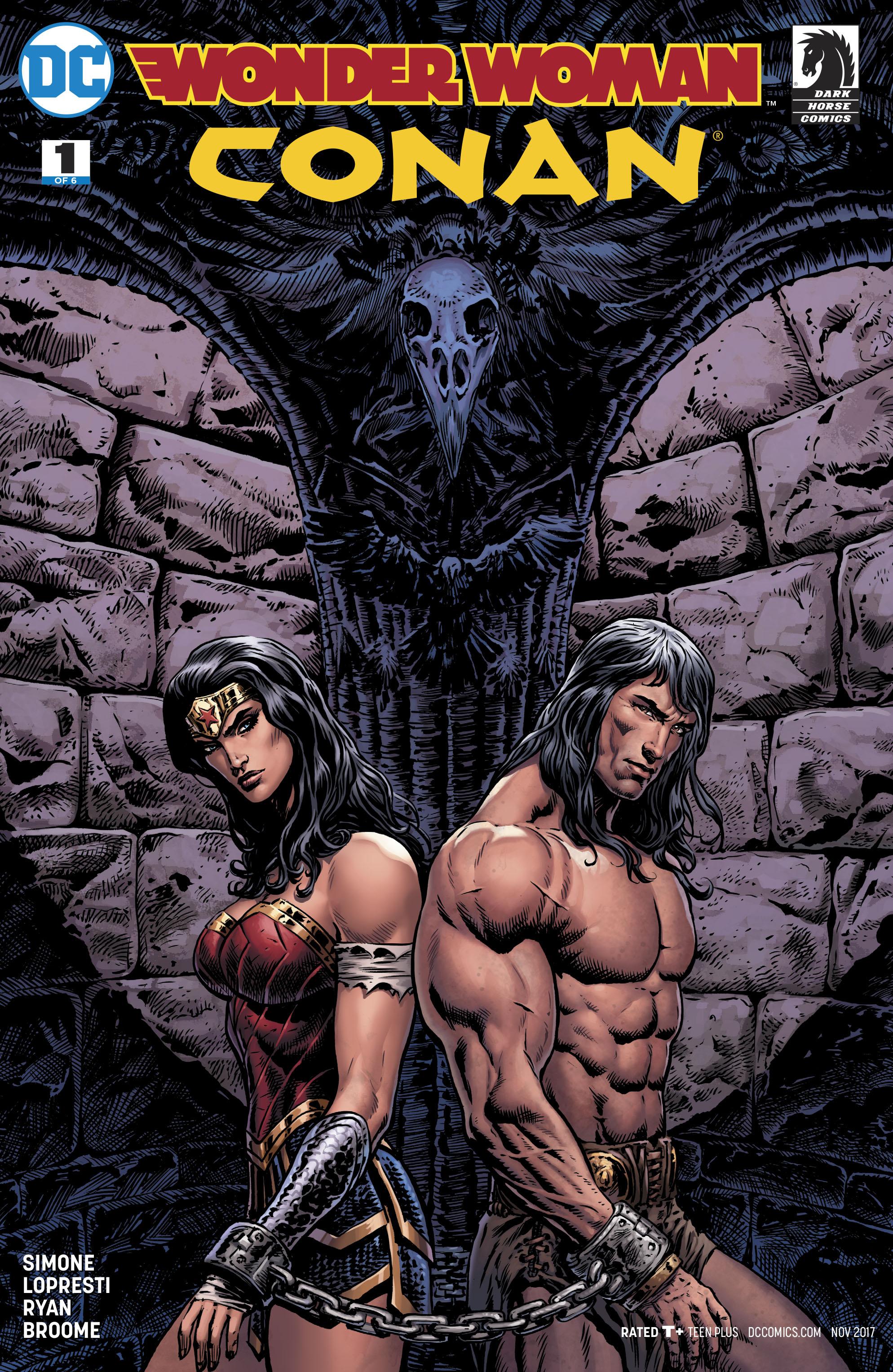 Wonder Woman Conan #1 Cover B Variant Liam Sharp Cover