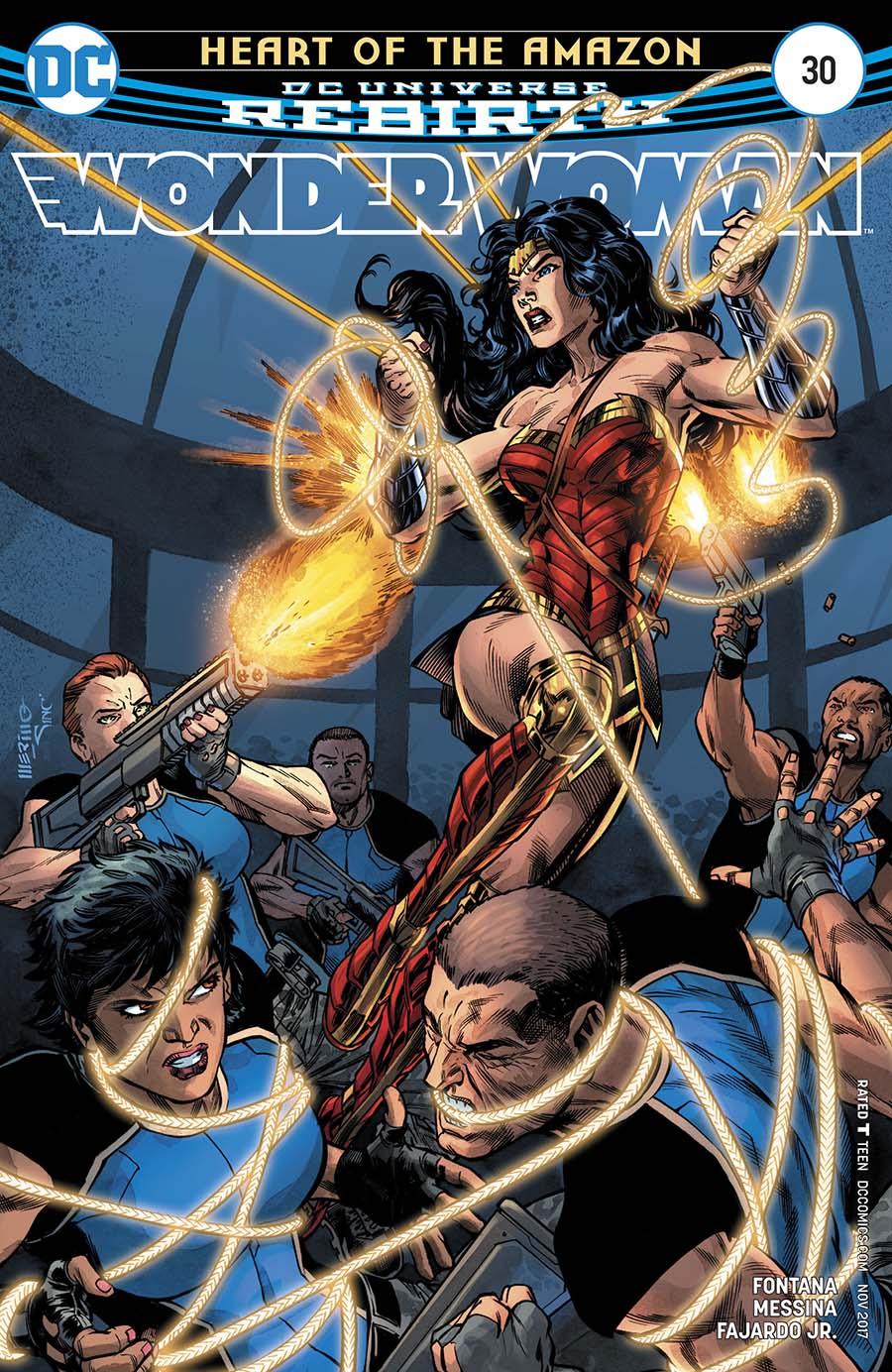 Wonder Woman Vol 5 #30 Cover A Regular Jesus Merino Cover