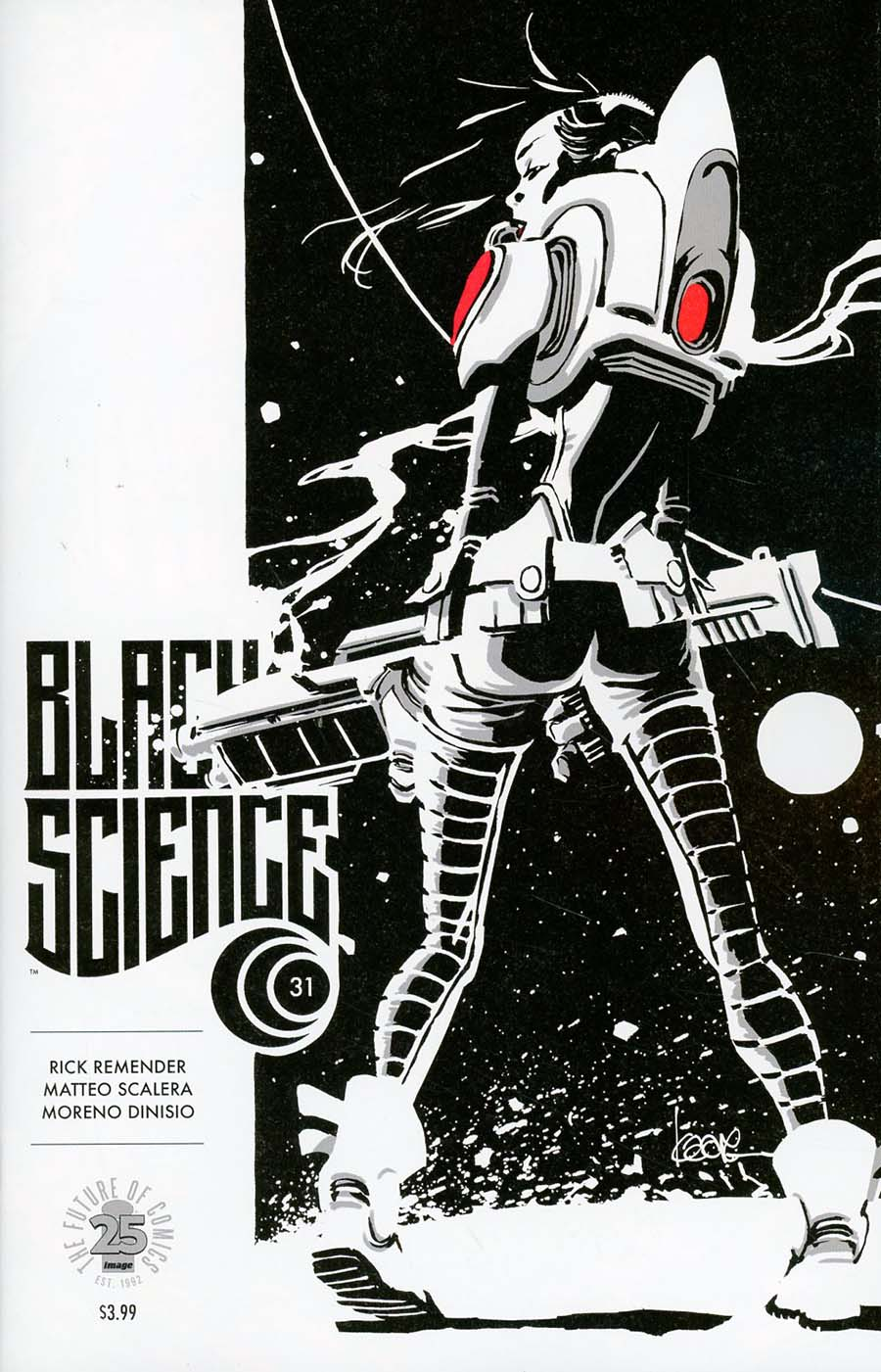Black Science #31 Cover B Variant Kaare Andrews Cover