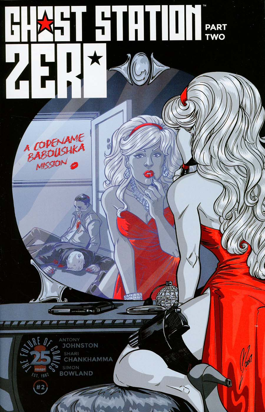 Ghost Station Zero #2 Cover B Variant Megan Levens Cover